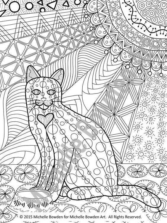Tuxedo Cat coloring #13, Download drawings