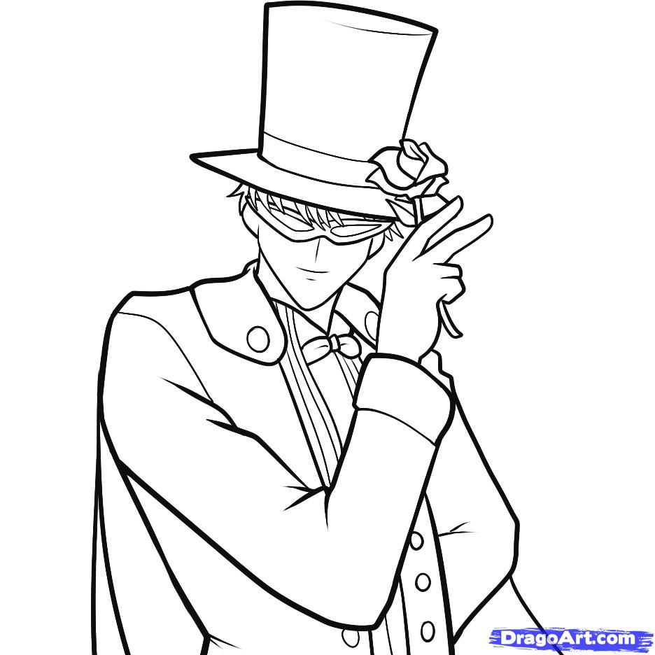 Tuxedo coloring #14, Download drawings
