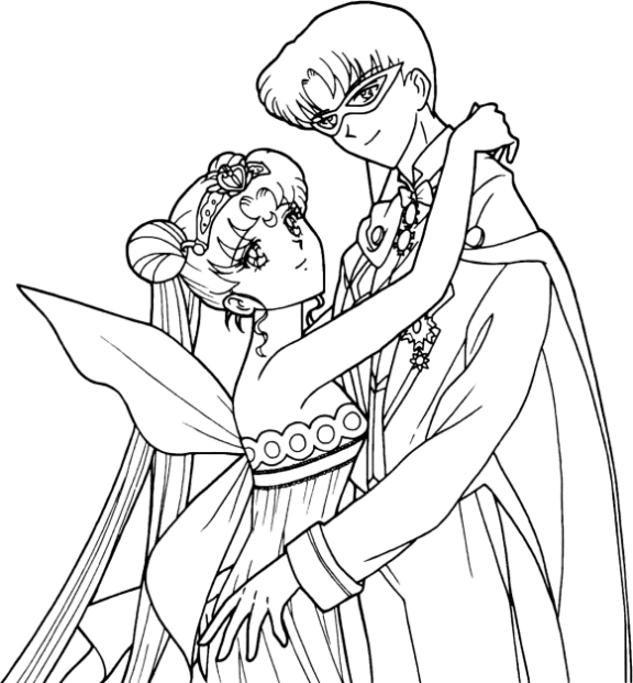Tuxedo coloring #15, Download drawings