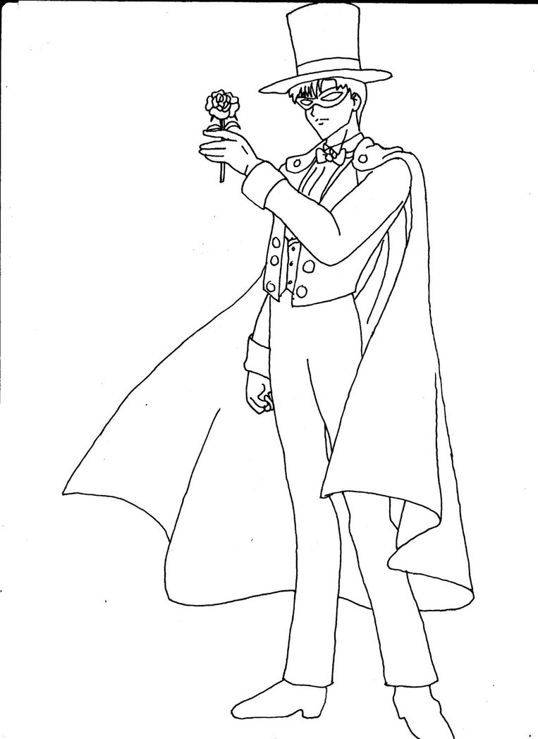 Tuxedo coloring #19, Download drawings