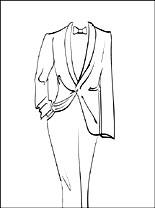 Tuxedo coloring #17, Download drawings