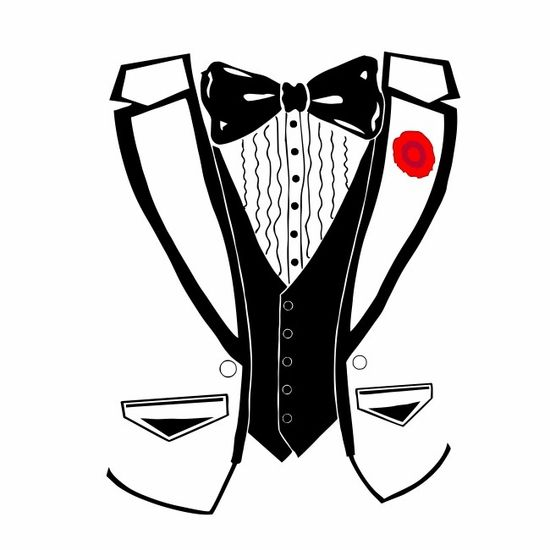 Tuxedo svg #577, Download drawings
