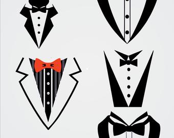 Tuxedo svg #197, Download drawings