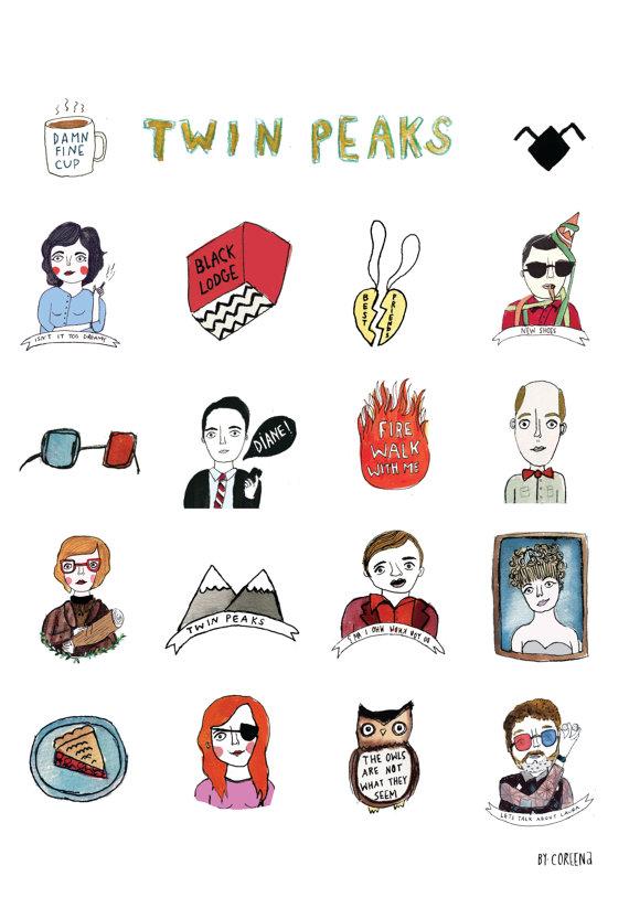 Twin Peaks clipart #15, Download drawings