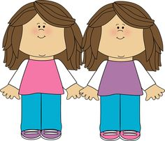 Twins clipart #3, Download drawings