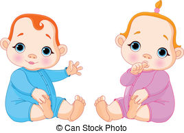 Twins clipart #1, Download drawings