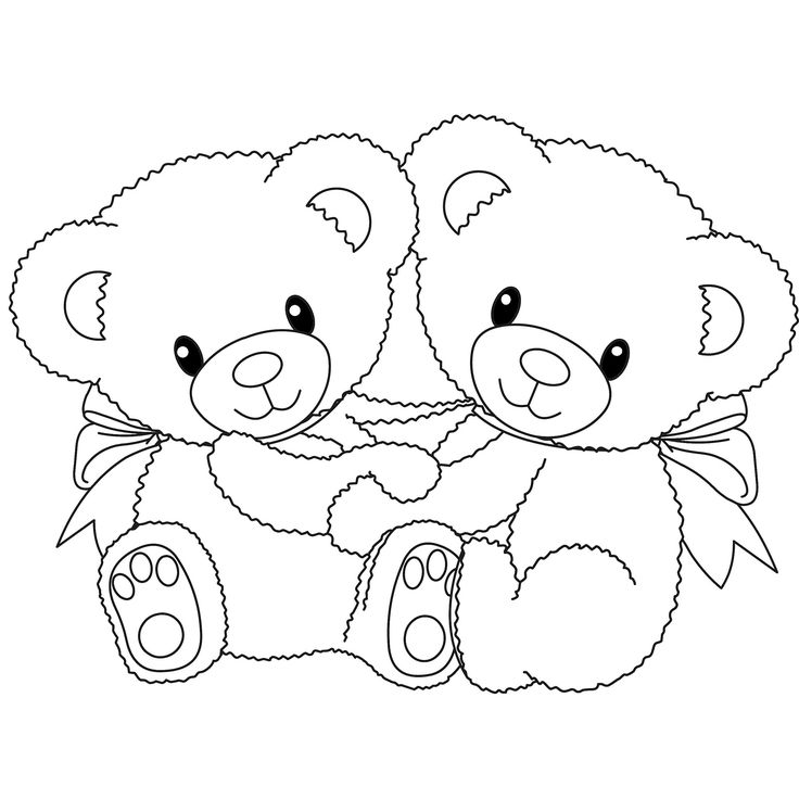 Twins coloring #7, Download drawings