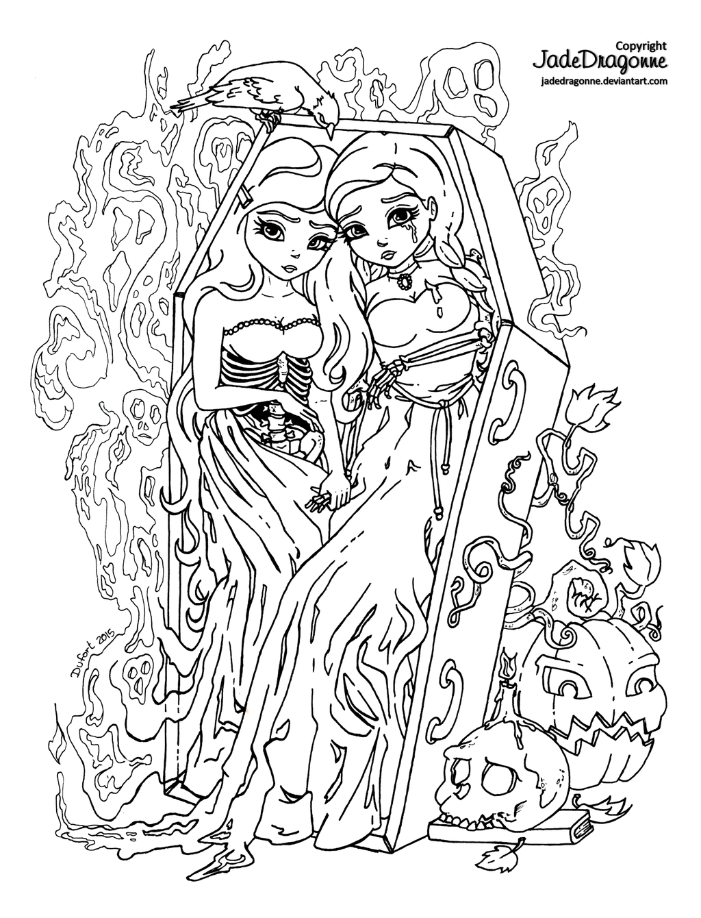 Twins coloring #18, Download drawings