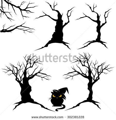Twisted Tree clipart #6, Download drawings