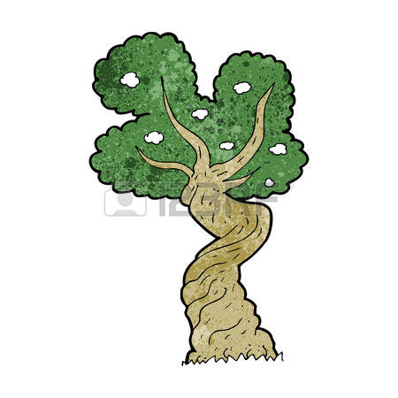 Twisted Tree clipart #15, Download drawings