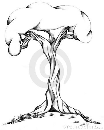 Twisted Tree clipart #13, Download drawings