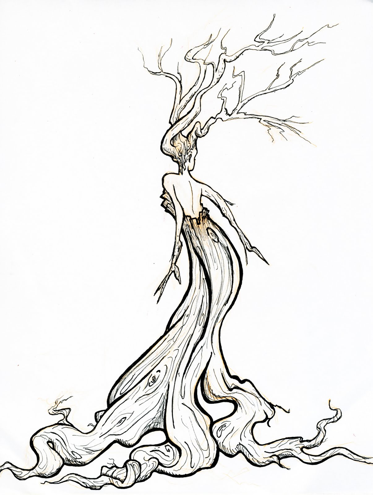 Twisted Tree clipart #19, Download drawings