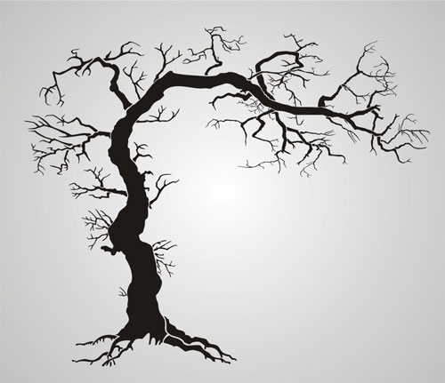 Twisted Tree clipart #14, Download drawings