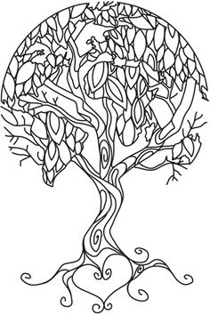 Ume Tree coloring #15, Download drawings