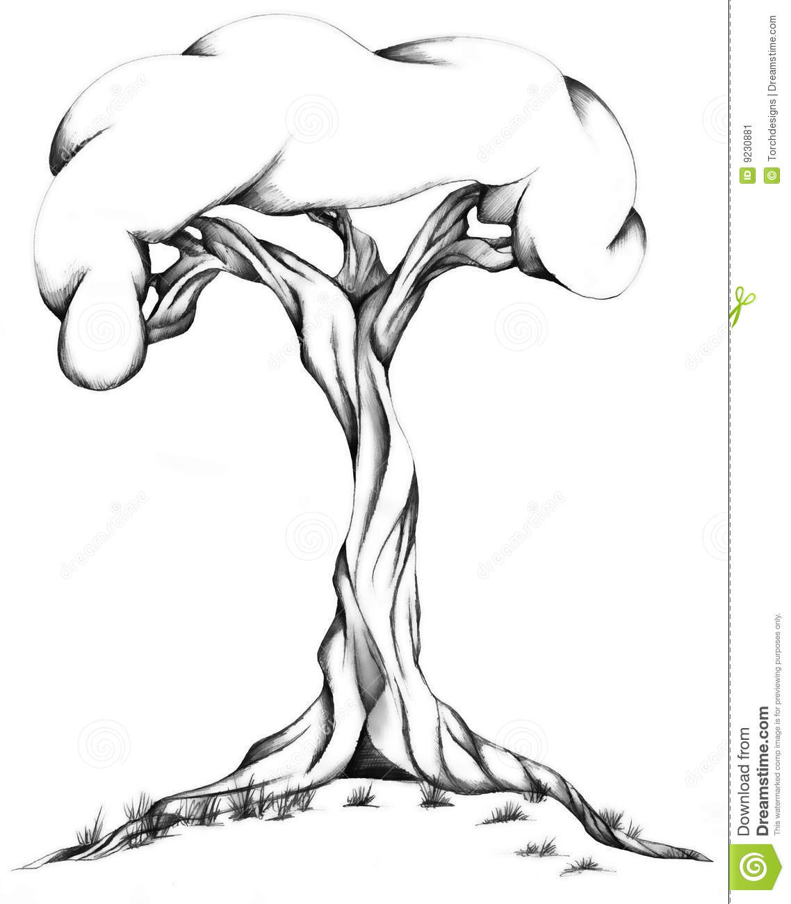 Twisted Tree coloring #16, Download drawings