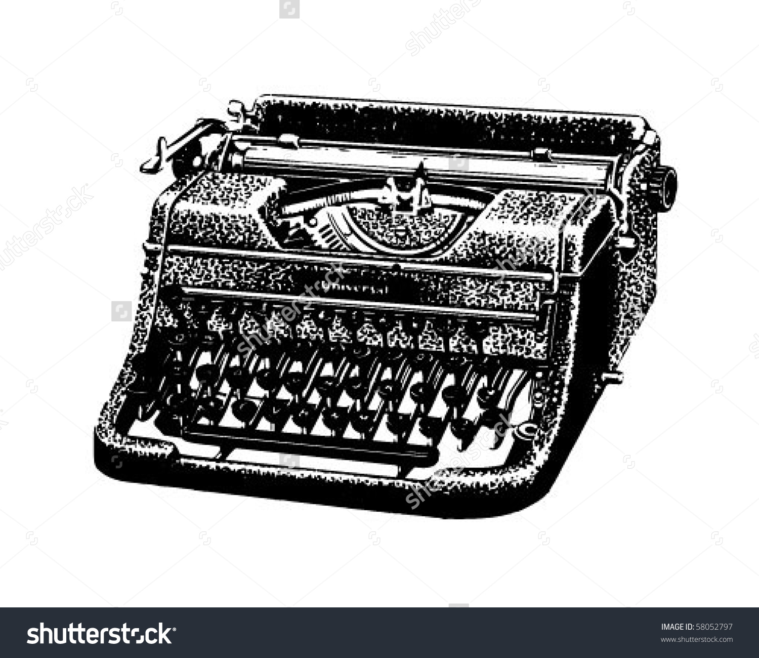Typewriter clipart #2, Download drawings