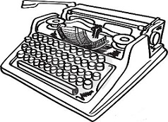 Typewriter clipart #13, Download drawings