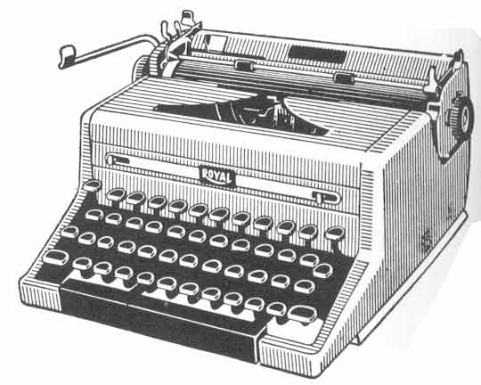 Typewriter clipart #14, Download drawings