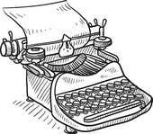 Typewriter clipart #11, Download drawings