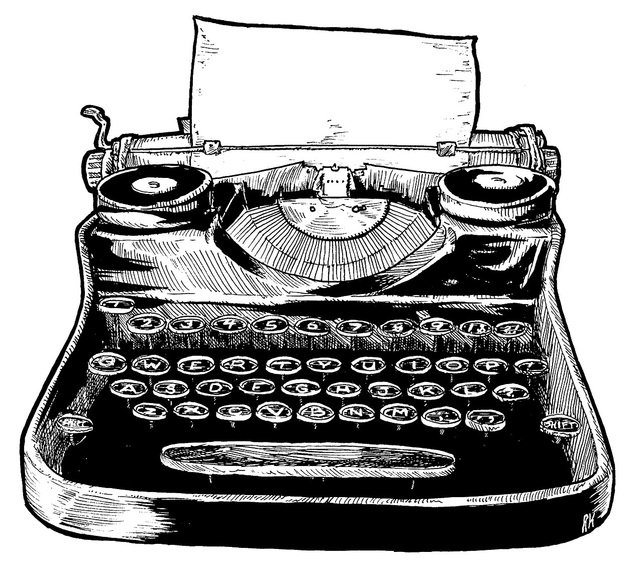 Typewriter clipart #3, Download drawings