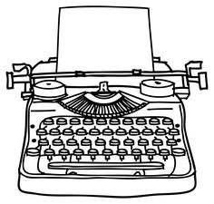 Typewriter clipart #16, Download drawings