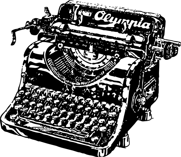 Typewriter clipart #6, Download drawings