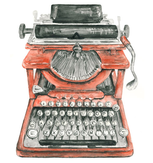Typewriter coloring #3, Download drawings