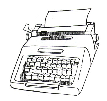 Typewriter coloring #16, Download drawings