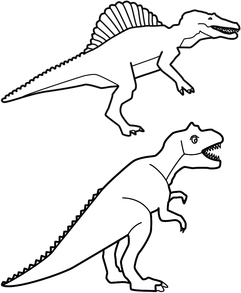 Tyrannosaurus Rex coloring #14, Download drawings