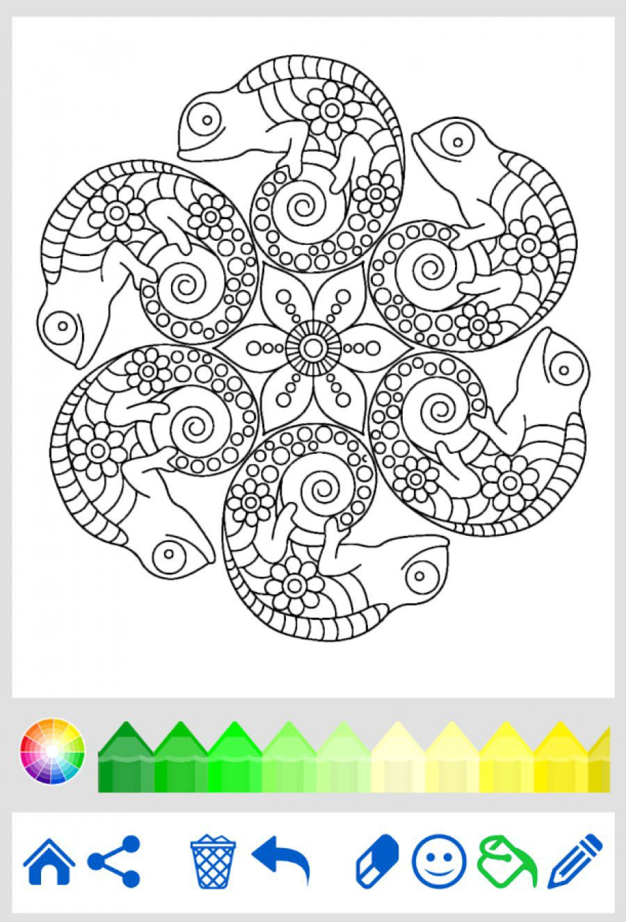 Ubuntu coloring #4, Download drawings