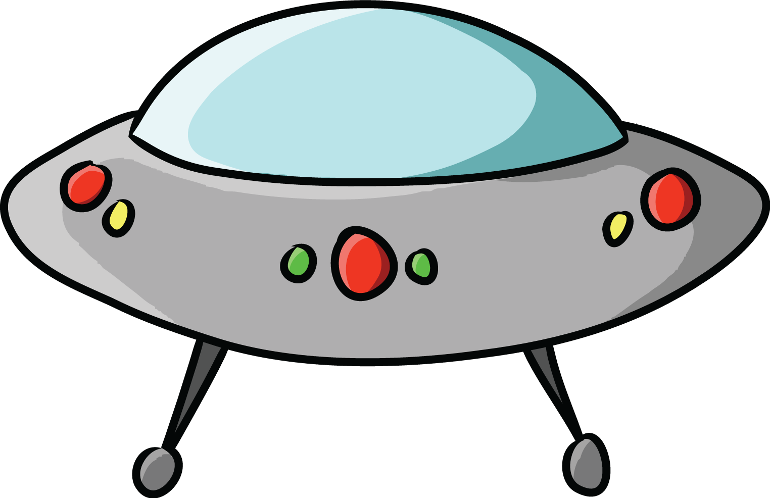 UFO clipart #1, Download drawings