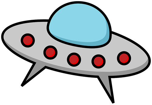 UFO clipart #2, Download drawings