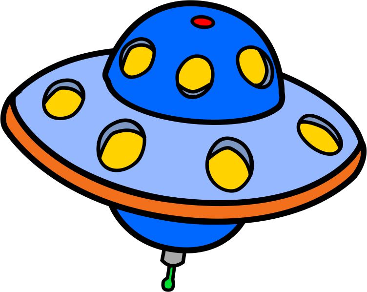 UFO clipart #4, Download drawings