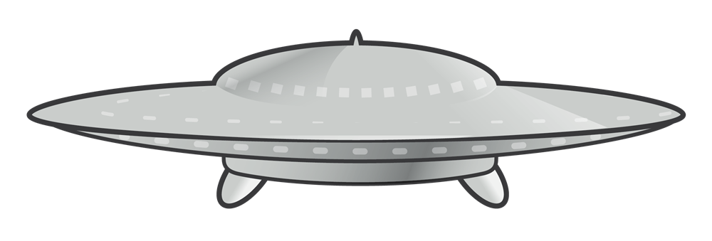 UFO clipart #3, Download drawings