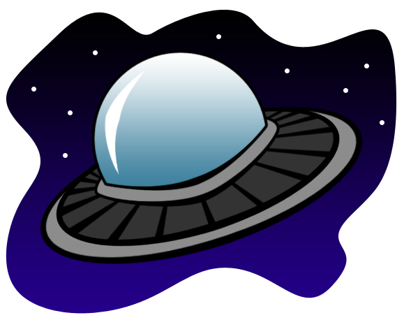 UFO clipart #5, Download drawings