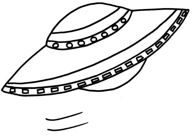UFO coloring #20, Download drawings