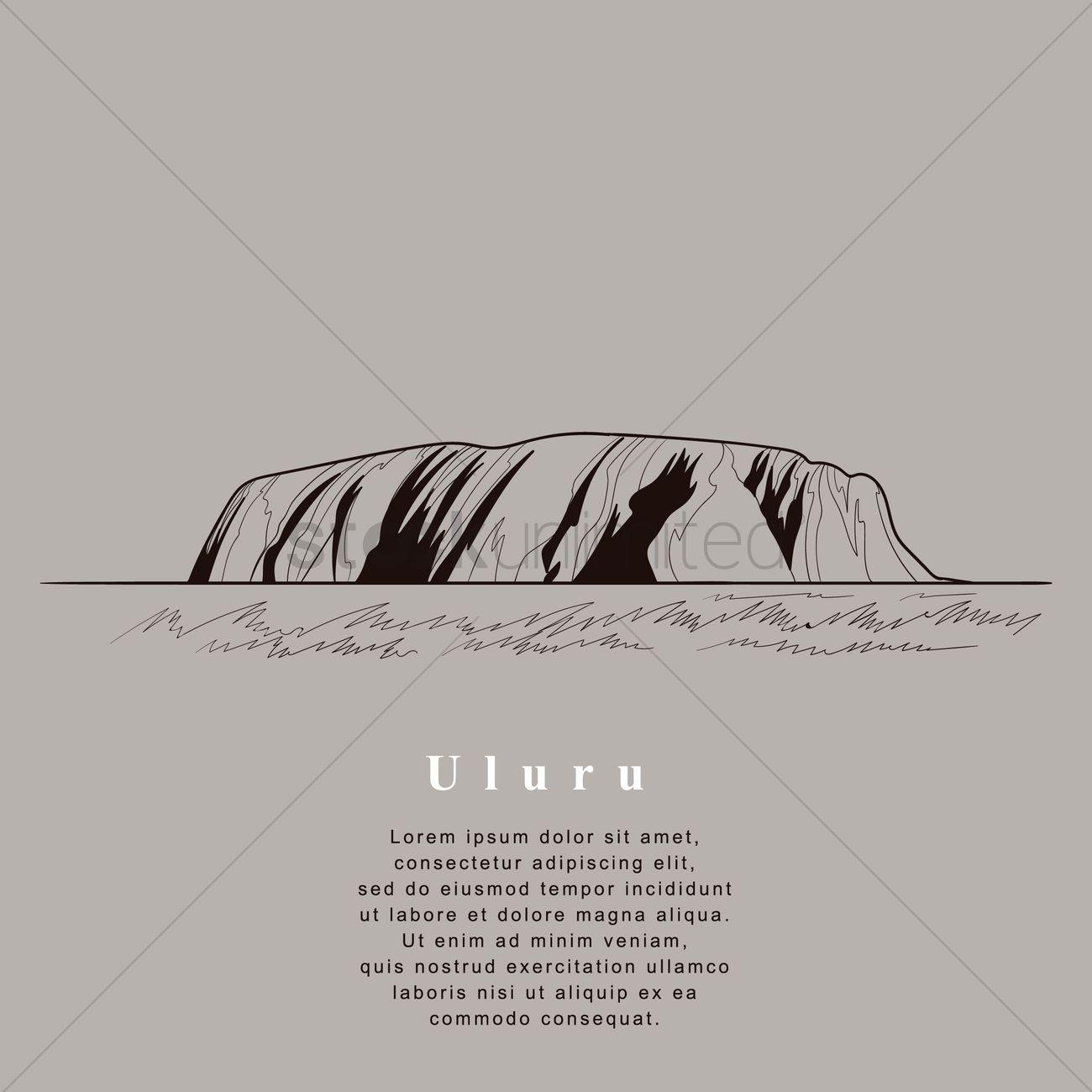 Uluru svg #4, Download drawings