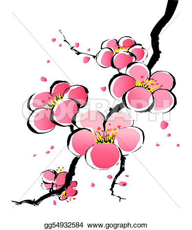 Ume Blossom clipart #7, Download drawings