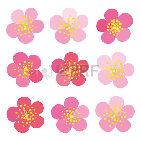 Ume Blossom clipart #2, Download drawings