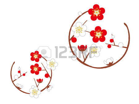 Ume Blossom clipart #6, Download drawings