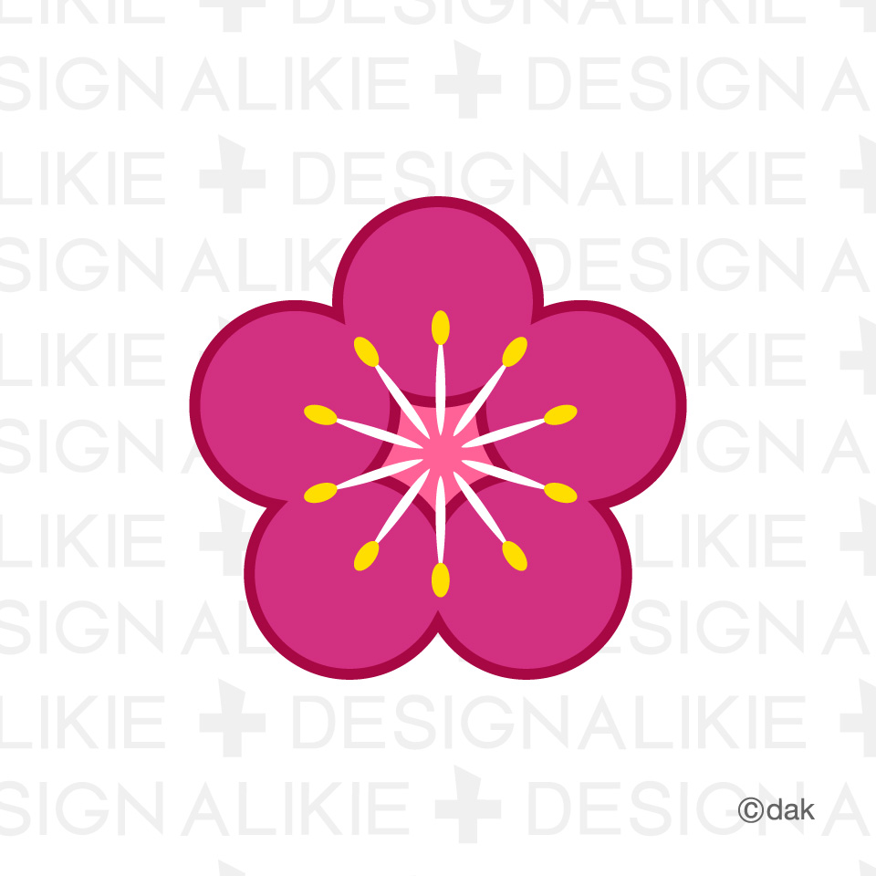 Ume Blossom clipart #3, Download drawings