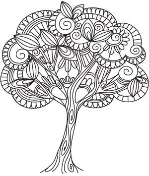 Ume Tree coloring #11, Download drawings