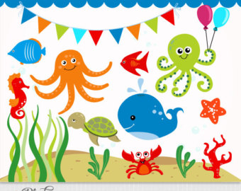 Underwater clipart #13, Download drawings