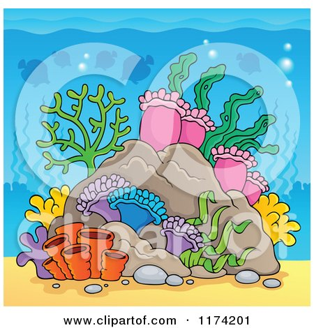 Underwater clipart #6, Download drawings