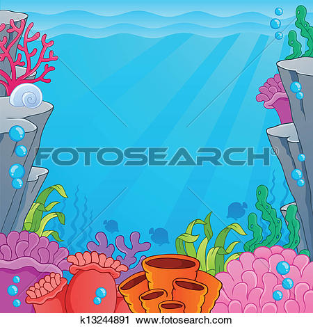 Underwater clipart #1, Download drawings