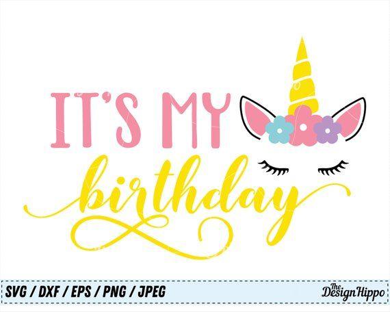 unicorn birthday svg #14, Download drawings