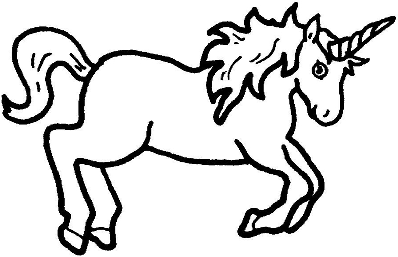 Unicorn clipart #7, Download drawings