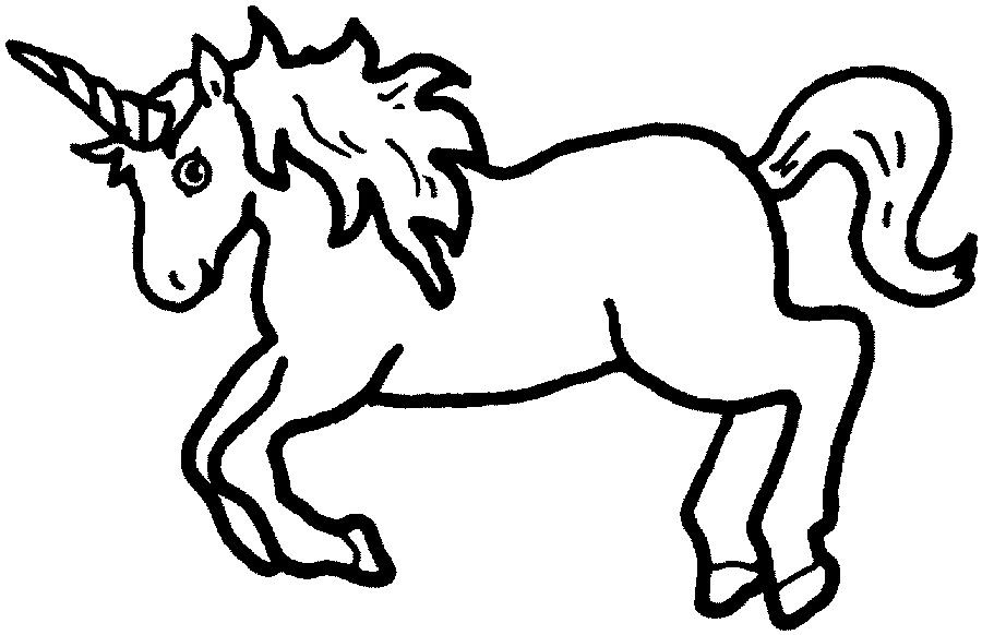 Unicorn clipart #5, Download drawings