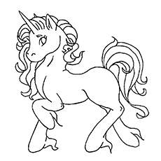 Unicorn coloring #19, Download drawings