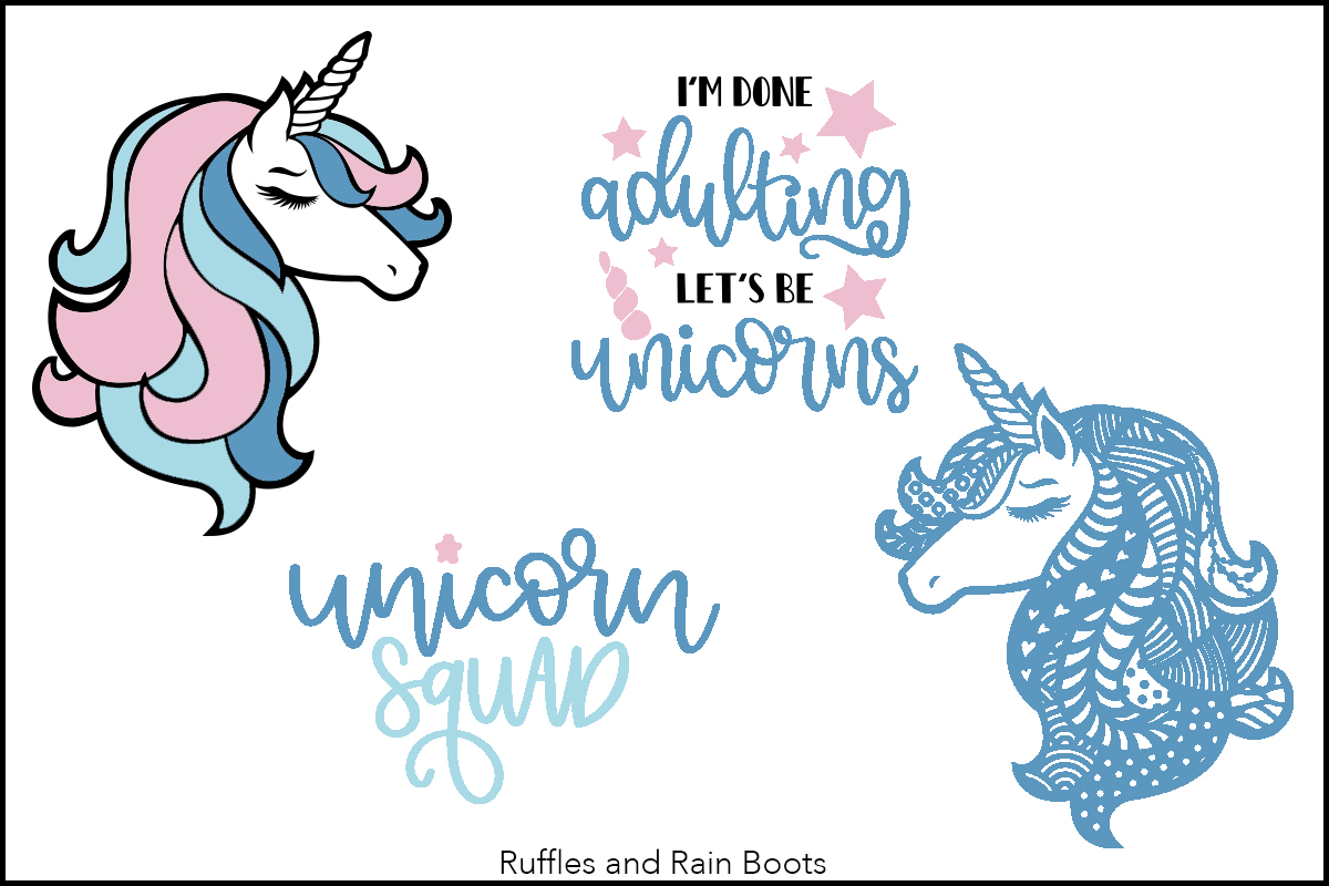 unicorn free svg #970, Download drawings